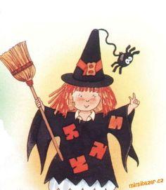 Čarodějnice - klobouk s pavoučkem Yahoo Images, Image Search, Halloween, Clock, Carnavals, Watch, Clocks, Spooky Halloween
