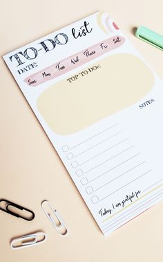 This undated to-do list notepad is perfect for keeping track of what's on your list and prioritizing what's important. This notepad is 5x8 inches and contains 50 pages. Teacher Appreciation Gifts, Teacher Gifts, Todo List, Keep Track, Prioritize, Scrapbook Paper, Scrapbooking, Prompts, Stationery