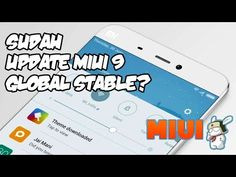 CARA UPDATE MIUI 9 GLOBAL STABLE ROM TERBARU DI XIAOMI REDMI NOTE 2 Stables, Android, Notes, Tutorials, Iphone, Horse Stables, Horse Barns, Teaching