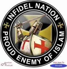 Infidel #Nation. Proud Enemy of #Islam.