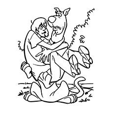 scooby and shaggy coloring pages - photo#20