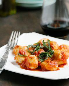 Ricotta Gnocchi (with ricotta instead of potatoes)