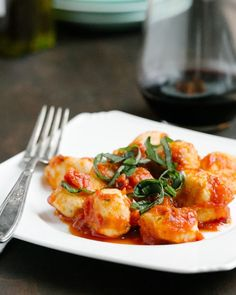 [so intrigued! not potato???] Ricotta Gnocchi - A CUP OF JO