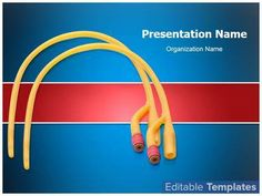 Catheter PowerPoint design template. This #PowerPoint #theme can be associated with #Catheter #Catheterize #FoleyCatheter #Health…