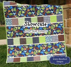 Quilting Ideas Kristin Blandford Designs original quilt patterns are simple easy and quick to put together! Enjoy completion of your quilt top quickly with little to no - Charm Pack Quilt Patterns, Charm Pack Quilts, Charm Quilt, Baby Quilt Patterns, Quilting Patterns, Quilting Fabric, Sewing Patterns, Strip Quilts, Panel Quilts