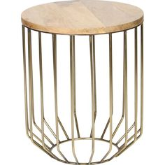 Tapered Base End Table