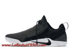 6acf7480fc83 Nike Kobe A.D NXT 882049 007 Chaussures de BasketBall Pas Cher Pour Homme  Noir Blanc