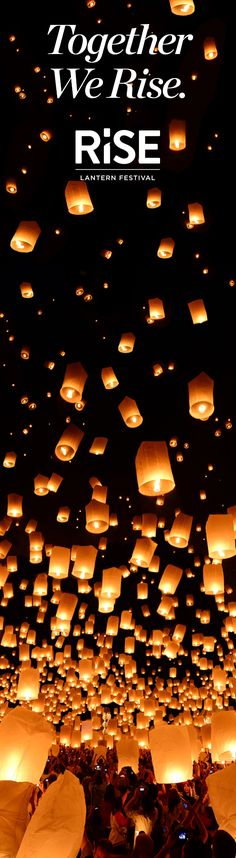 Super excited to go to the RiSE lantern festival next month. I've always wanted to check this off my bucket list!!