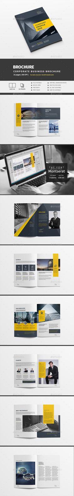Company Profile Vol   Company Profile Brochure Template And