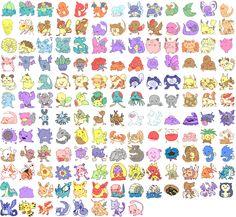 Pokémon. by Kinnoyu.