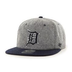 44fa8aaaa77af Detroit Tigers Hempstead Captain Rf Gray 47 Brand Adjustable Hat