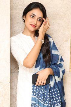 Priyanka Arul Mohan at Gang Leader Movie Press Meet - South Indian Actress South Indian Actress, Beautiful Indian Actress, India Beauty, Asian Beauty, Kurtha Designs, Actress Priyanka, Churidar Designs, Beautiful Girl Photo, Beautiful Women