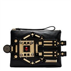 MIMCO Medium Pouch Jade Sparks Fly Purse Clutch Wallet Handbag  BNWT Authentic