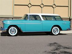 1955 Chevrolet Nomad Station Wagon-my sister and brother-in-law had one. 1955 Chevrolet, Chevrolet Bel Air, Beach Wagon, Chevy Nomad, Station Wagon, Buick, Old Cars, Cadillac, Jeep