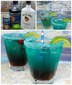 Cocktail recipe - Over 40 of the BEST Summer Cocktails!Shark Bite Cocktail recipe - Over 40 of the BEST Summer Cocktails!Bite Cocktail recipe - Over 40 of the BEST Summer Cocktails!Shark Bite Cocktail recipe - Over 40 of the BEST Summer Cocktails! Cocktail Drinks, Fun Drinks, Yummy Drinks, Cocktail Recipes, Alcoholic Drinks, Mixed Drinks, Drink Recipes, Drinks Alcohol, Alcohol Recipes