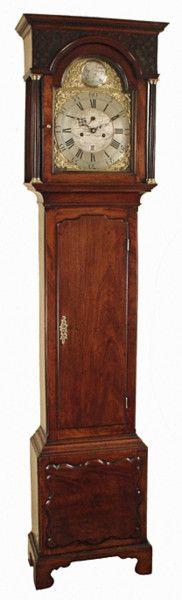 Bristol Longcase Clock by Wasbrough (c. 1780 England)