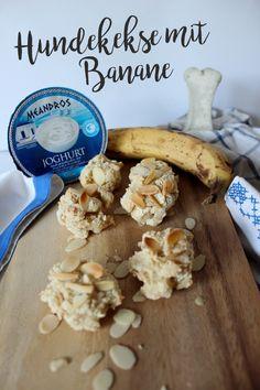 #Hundekekse selbermachen, Rezept mit Banane und Griechischem Yoghurt...