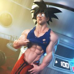 Hello,  Here's my latest work.  #goku exposing some serious abs while travelling into space to Namek. :-) I loved the Namek Saga.  I think I'm gonna do more DBZ... Bigger guys, like Radditz or Broly.  What character would you like to see?  Uncropped and naked version of this image for my patrons on my patreon page. This image will be declined in various rewards: wallpapers, extra renders, gray renders, sketchfab, line arts, videos, etc... More info on my patreon page…