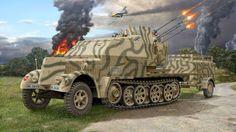 Sd. Kfz. 7/1 flakvierling 38