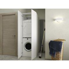 Colonna bagno per lavatrice e asciugatrice Aquna - ARREDACLICK