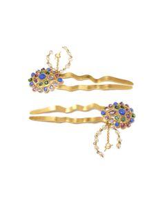 #weddinghair Tsarine Collection Hairpins £550 Gripoix for COUTURELAB