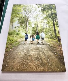 Happy #mothersday from us at FotoFoam in #NYC. Shown: aluminum #print. Order yours thru our iPhone app at http://app.fotofo.am