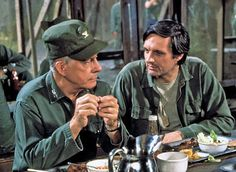 M*A*S*H - Sherman Potter and Hawkeye Pierce