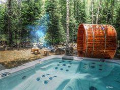 Ontario, Canada, Cottage, Cozy Cabin, Location, Tub, Outdoor Decor, Cabins, Home Decor