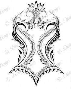 African Polynesian Back Tattoo and Stencil Instant Digital / Etsy maori tattoo - maori tattoo women Tribal Back Tattoos, Hawaiian Tribal Tattoos, Tribal Tattoos For Women, Tattoos Skull, Back Tattoo Women, Lower Back Tattoos, Sleeve Tattoos, Female Back Tattoos, Lower Back Tattoo Designs