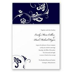 Always & Forever - Lapis  Invitation