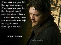 Blake Shelton-God Gave Me You