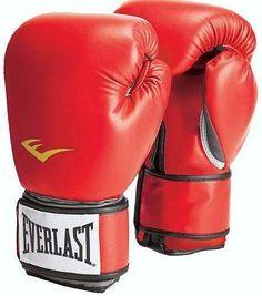e5b194b1da Luva de Boxe Everlast Vermelha Pro Style Training