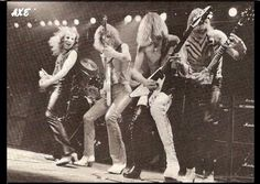 Scorpions with Michael Schenker