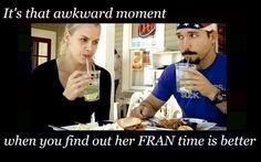 Awkward Moment. #fran #crossfit