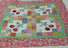 Would make a super cute baby quilt. And I already have the fabric for it... From So Happy.