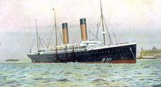 """""""OCEANIC"""" of 1899 of White Star Line. """""""
