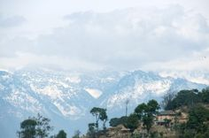 View from a hilltop resort in Kathmandu, where Sanjay is currently visiting