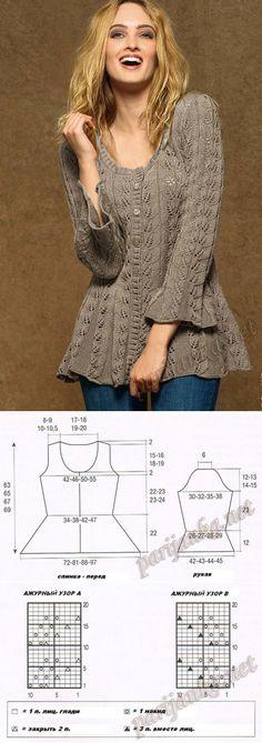 Crochet lace cardigan pattern jackets 55 Ideas for 2019 Knit Cardigan Pattern, Lace Cardigan, Jacket Pattern, Knitted Jackets Women, Cardigans For Women, Jackets For Women, Lace Knitting, Crochet Lace, Knitting Sweaters