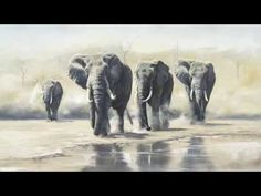 Artists Against Extinction Elephant Artwork, Elephant Pictures, Elephant Drawings, Elephant Paintings, Wildlife Paintings, Wildlife Art, Elephant Nature Park, Ivory Trade, Save The Elephants