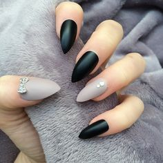 Black Matte Taupe Thumbs