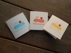 Kids Valentines-Little Truck Mini Valentine's Cards by Lemon Drops & Lilacs on etsy.com