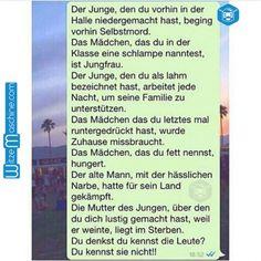 Lustige WhatsApp Bilder und Chat Fails 3 - Vorurteile