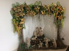 Best 12 Atif's 537 media details – SkillOfKing. Diy Christmas Fireplace, Christmas Swags, Christmas Decorations, Xmas, Free To Use Images, Ladder Decor, Garland, Creations, Merry