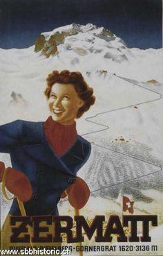 Zermatt - Zermatt Riffelalp-Riffelberg-Gornergrat 1620-3136 m. -
