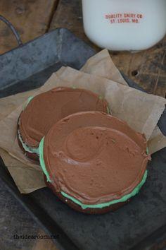 brownie mint cookie recipe