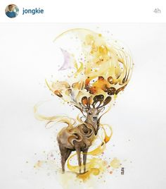 Such an awesome work! Follow the artist on Instagram. I just love his works!