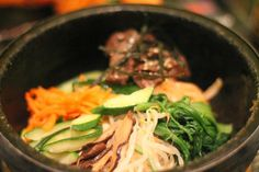The Bulgoggi bibimbap at Dotori in Finsbury Park