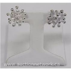Michelle Merizzi - Custom Designer 'Burst' Style Earring - Auction Network
