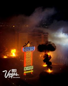 Dunes implosion October 27, 1993