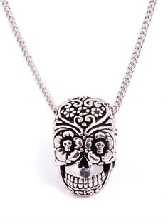 Day of the Dead Pendant Necklace By Lost Apostle
